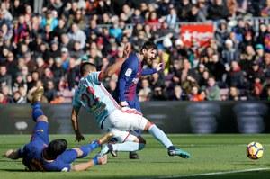 FC Barcelona - Celta Vigo 2-2 w 14. kolejce Primera Division