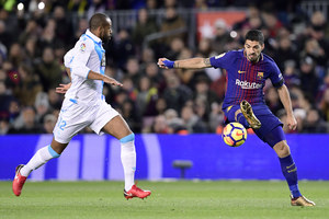 FC Barcelona - Deportivo La Coruna 4-0 w 16. kolejce Primera Division