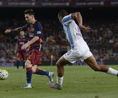 FC Barcelona - Malaga CF 1-0 w 2. kolejce Primera Division