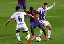 FC Barcelona - Real Valladolid 1-0 w 29. kolejce Primera Division