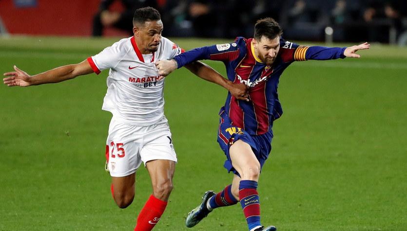 """FC Barcelona - Sevilla FC 3-0 po dogrywce w rewanżowym starciu 1/2 Pucharu Króla. Awans """"Dumy Katalonii"""""""
