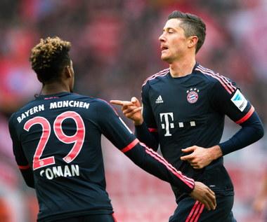 FC Koeln - Bayern Monachium 0-1. Gol Roberta Lewandowskiego