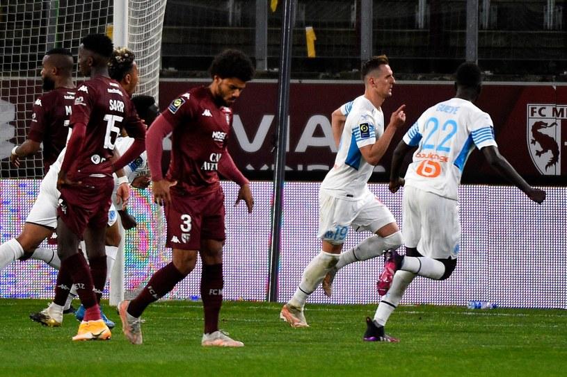 FC Metz - Olympique Marsylia /JEAN-CHRISTOPHE VERHAEGEN /AFP