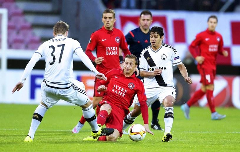 FC Midtjylland - Legia Warszawa 1-0 /EPA /PAP/EPA