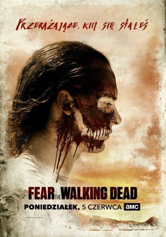 """""""Fear the Walking Dead"""": Plakat promujący sezon trzeci /AMC /materiały prasowe"""