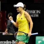 Fed Cup. Ashleigh Barty zapewniła awans Australijkom do półfinału
