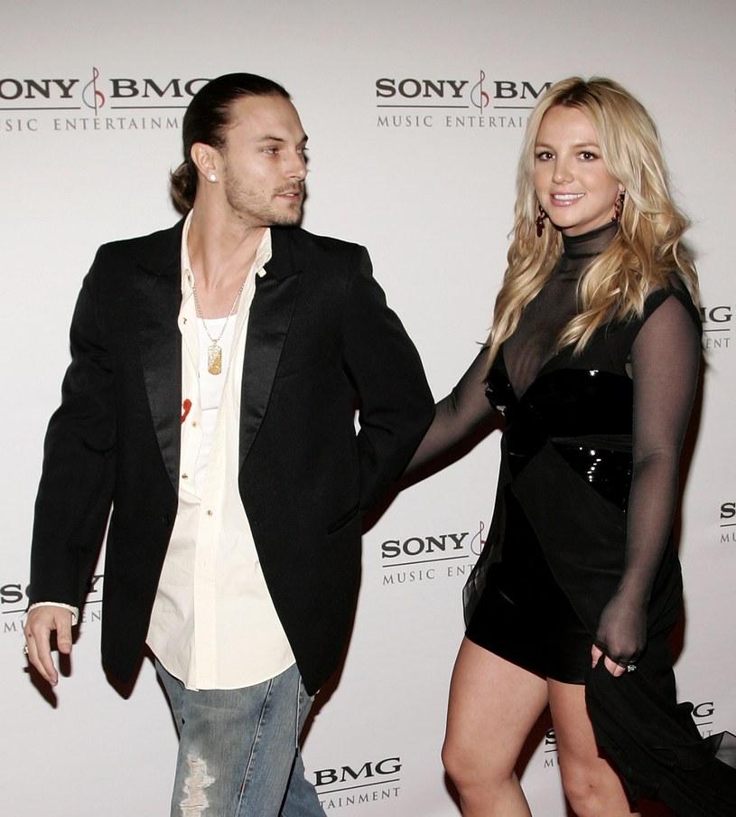Federline i Spears byli ze sobą od 2004 do 2007 roku /Vince Bucci /Getty Images