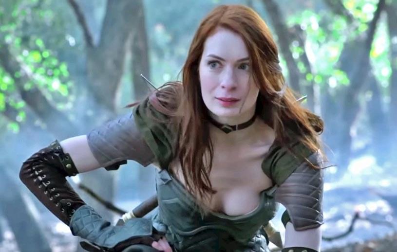 """Felicia Day w """"Dragon Age: Odrodzenie"""" /YouTube"""
