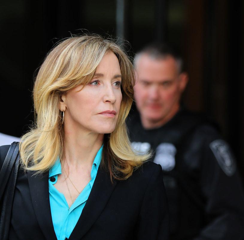 Felicity Huffman spędziła w więzieniu 11 dni, fot. Pat Greenhouse/The Boston Globe /Getty Images