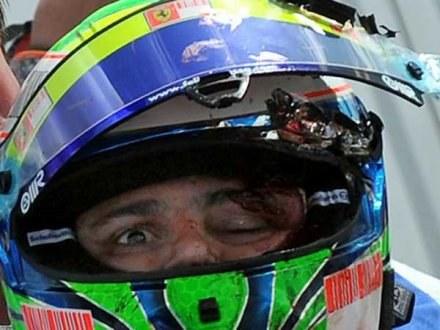 Felipe Massa nie pamięta chwili wypadku /AFP