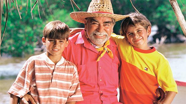 Felipin (pierwszy z lewej) i jego przyjaciele zawsze chętnie słuchali barwnych opowieści Chirimbola /materiały prasowe