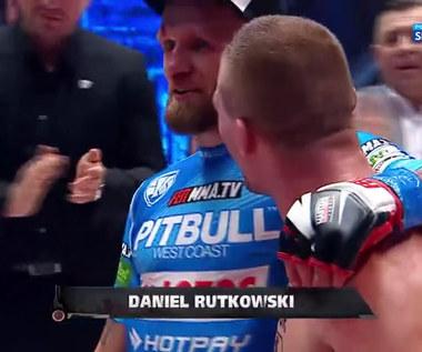 FEN 31. Daniel Rutkowski pokonał na pełnym dystansie Adriana Zielińskiego (Polsat Sport). wideo