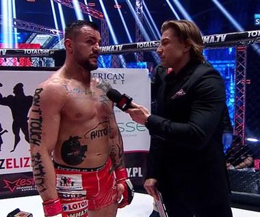 FEN 31. Trybson: Na pewno go nie ugryzłem! Ucho zerwane po ciosie (Polsat Sport). wideo