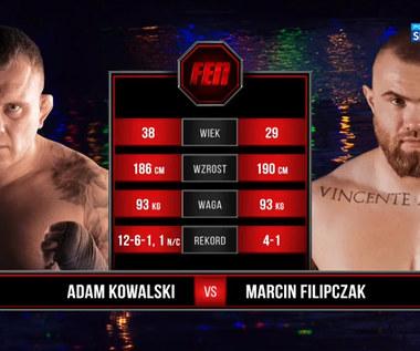 FEN 35. Adam Kowalski - Marcin Filipczak. Skrót walki (POLSAT SPORT). Wideo