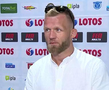 FEN 35. Adrian Zieliński: Myślałem nawet o kategorii półśredniej (POLSAT SPORT) Wideo