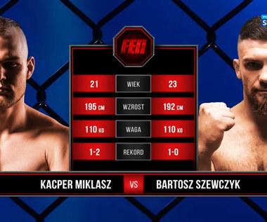 FEN 35. Bartosz Szewczyk - Kacper Miklasz. Skrót walki (POLSAT SPORT). Wideo