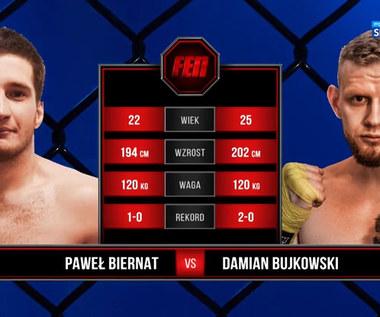 FEN 35. Paweł Biernat - Damian Bujkowski. Skrót walki (POLSAT SPORT). Wideo
