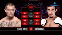 FEN 36. Marcin Wójcik - Eder de Souza. Skrót walki. WIDEO (Polsat Sport)