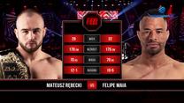 FEN 36. Mateusz Rębecki - Felipe Maia. Skrót walki. WIDEO (Polsat Sport)