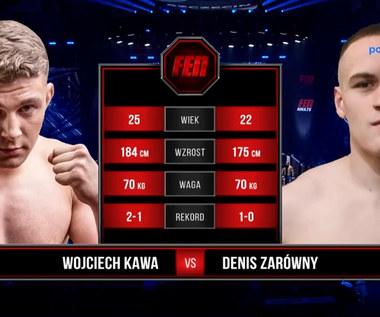 FEN 36. Wojciech Kawa - Denis Zarówny. Skrót walki. WIDEO (Polsat Sport)