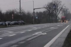 Feralne skrzyżowanie w Puznówce