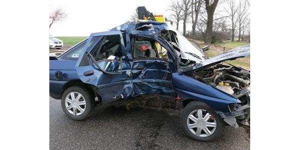 Wypadek w Krotoszynie