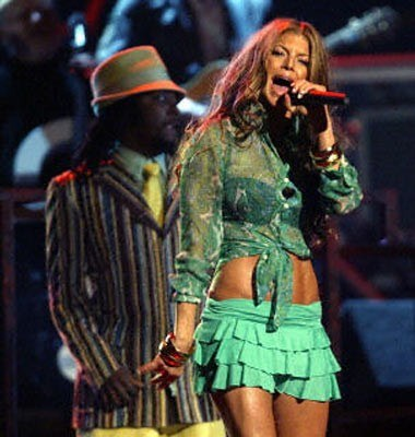 Fergie (Black Eyed Peas) /AFP