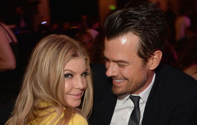 Fergie z mężem /Jason Merritt /Getty Images
