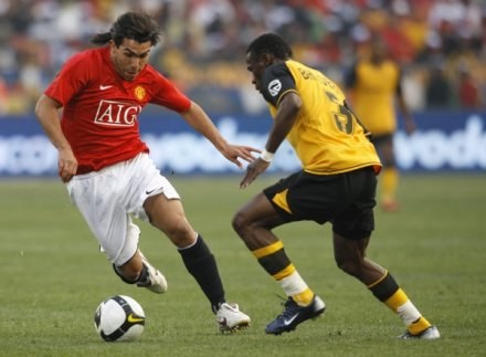 Ferguson może liczyć na Teveza. Reszta gwiazd Man Utd leczy kontuzje /AFP