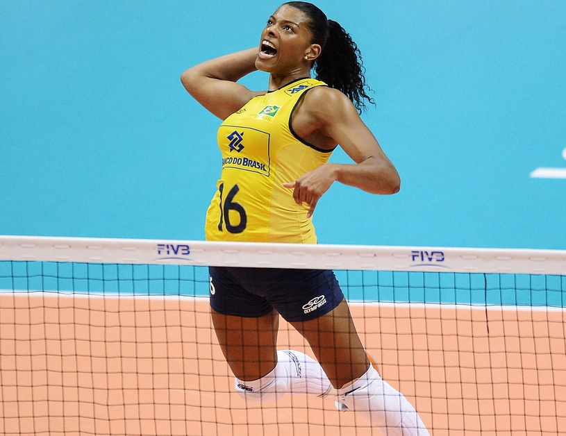 Fernanda Garay z reprezentacji Brazylii /Atsushi Tomura /Getty Images