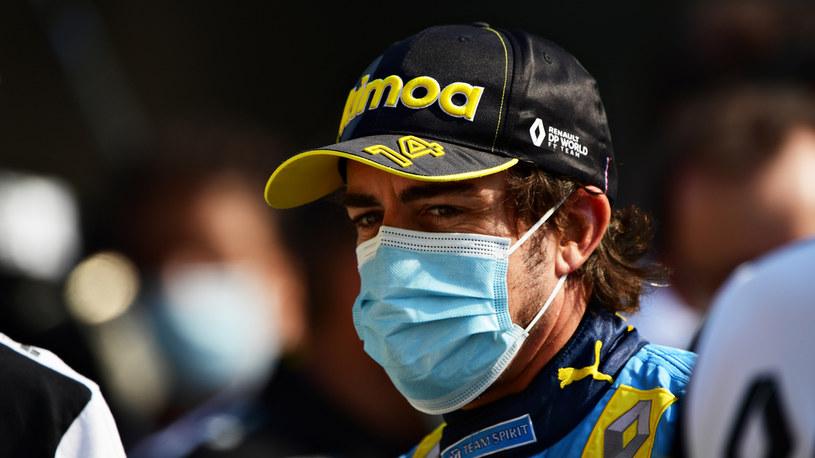 Fernando Alonso czuje się już lepiej /Getty Images