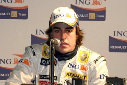 Fernando Alonso / Kliknij /INTERIA.PL