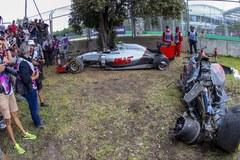 Fernando Alonso miał wypadek. Wyszedł z niego bez szwanku
