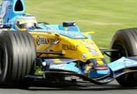 Fernando Alonso wygrał GP Australii /AFP