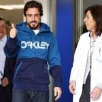 Fernando Alonso wyszedł ze szpitala. Nie weźmie udziału w testach