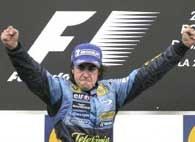 Fernando Alonso znów błysnął formą /AFP