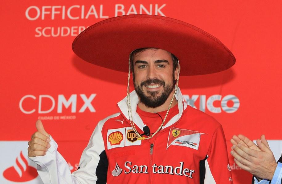 Fernando Alonso /MARIO GUZMAN    /PAP/EPA
