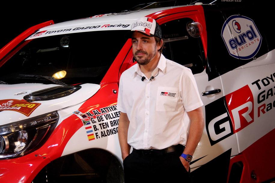 Fernando Alonso /Carlos Mateos /PAP/EPA