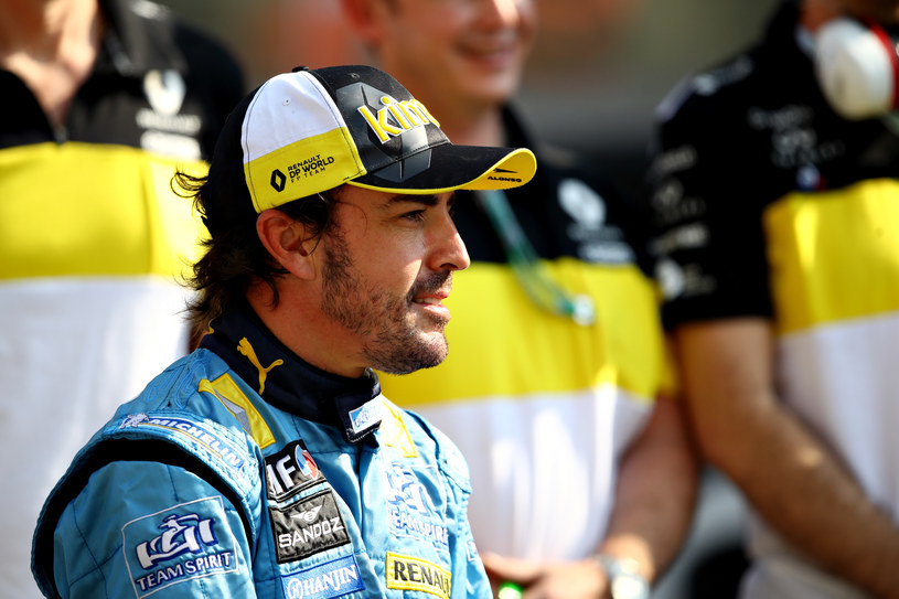 Fernando Alonso /Getty Images