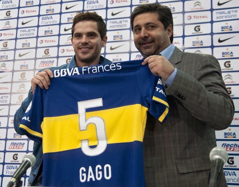 Fernando Gago ponownie w Boca Juniors /AFP