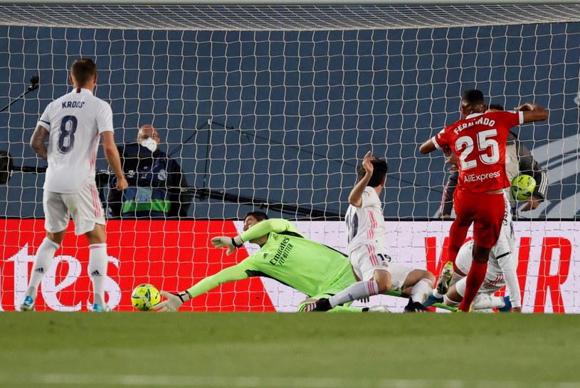 Fernando Reges zdobył bramkę dla Sevilli /Ballesteros    /PAP/EPA