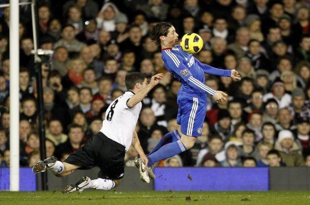 Fernando Torres w 3D - dla niektórych prawdziwa uczta /AFP
