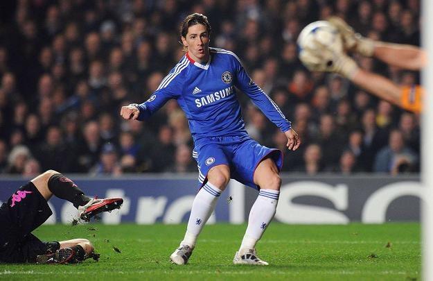 Fernando Torres wciąż czeka na bramkę w barwach Chelsea /AFP