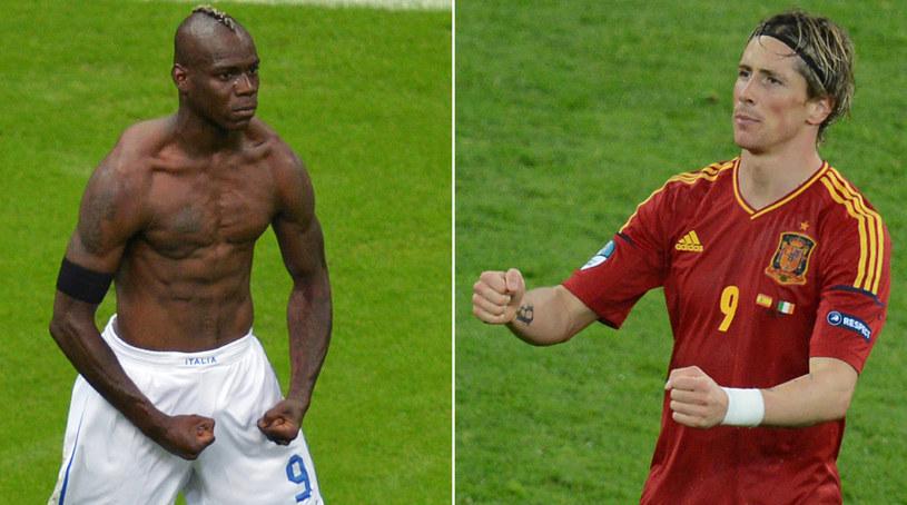 Fernando Torres (z prawej) zastąpi w Milanie Maria Balotellego (z lewej). /AFP