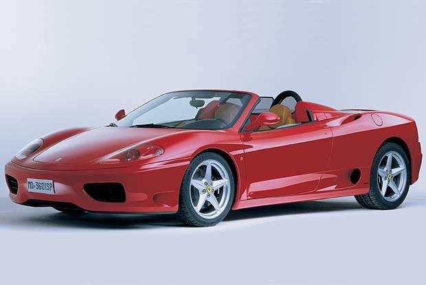 Ferrari 360 Spider. Czy legendarna marka rozstanie się z Fiatem? (kliknij) /INTERIA.PL