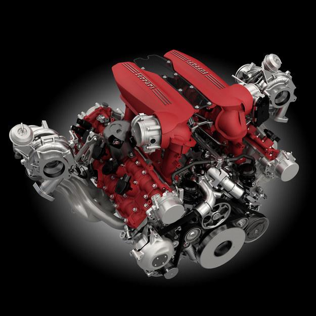 Ferrari 488 GTB - silnik /Ferrari