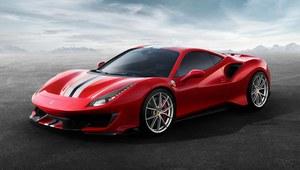 Ferrari 488 Pista - wersja (jeszcze) ostrzejsza