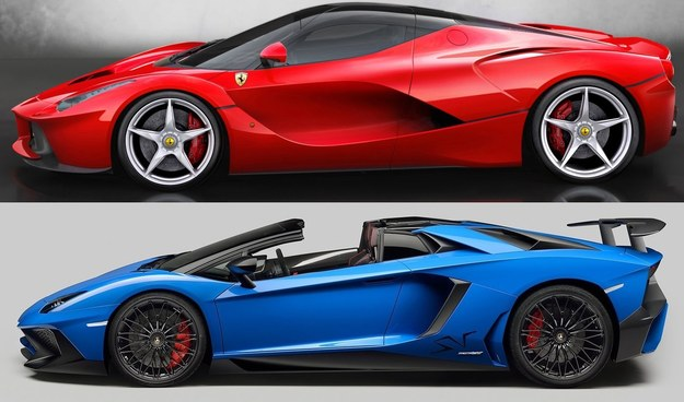 Ferrari czy Lambo? /