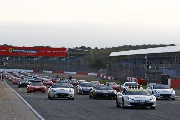 Ferrari Days na Silverstone /