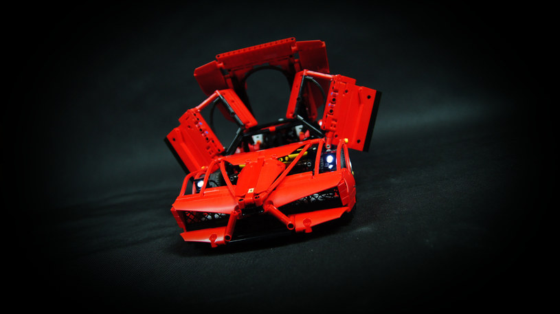 Ferrari Enzo, które zbudował Paweł /Paweł Kmieć /materiały prasowe